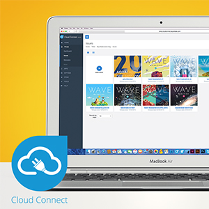 New interface for CloudConnect
